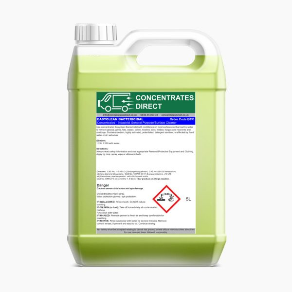 Easyclean Bactericidal – Concentrated Versatile Surface Cleaner