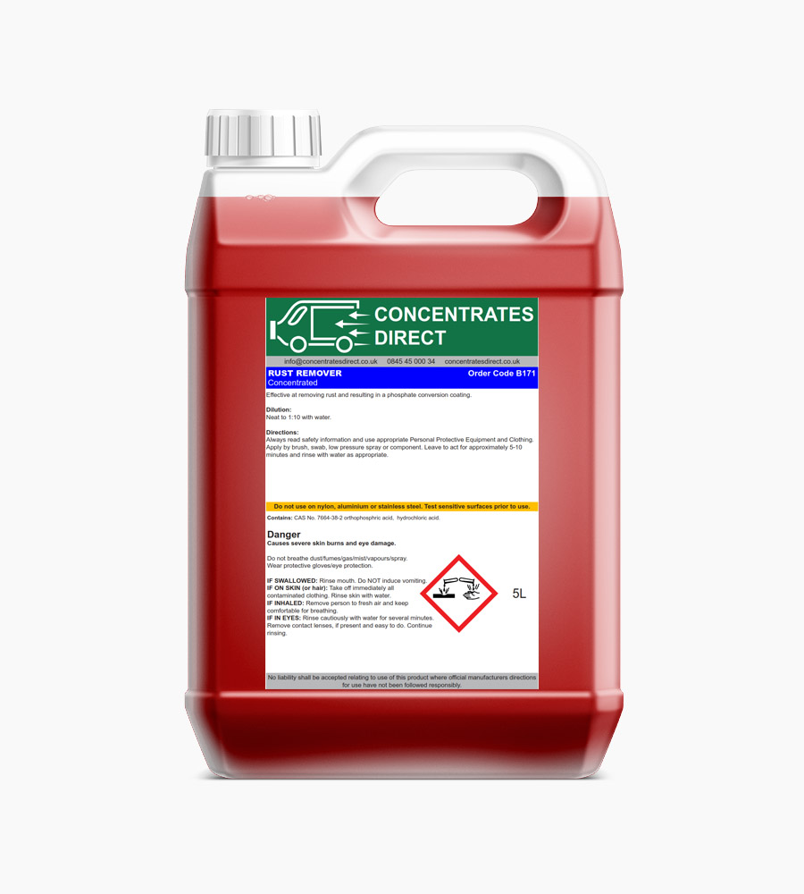Rust Remover – Concentrated Leaves Protective Phosphate Coating