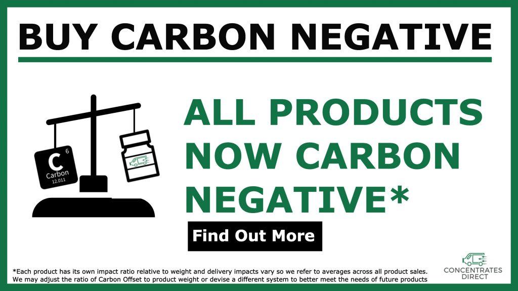 carbon negative banner